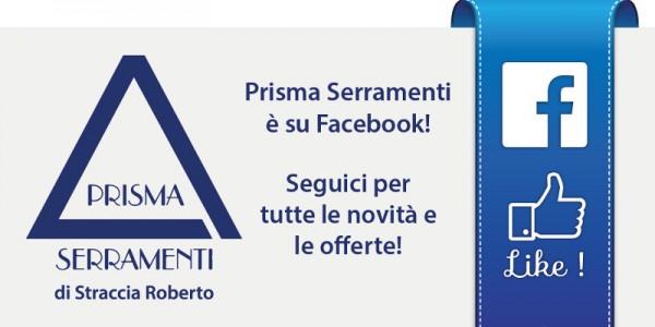 La Prisma Serramenti ora è anche su Facebook!