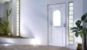 PVC external doors