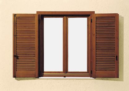 Prisma serramenti persiane in legno alluminio e pvc - Finestre pvc con tapparelle ...