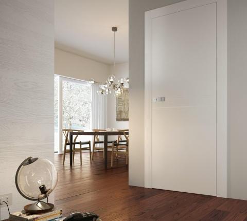 Prisma serramenti vendita porte da interno in legno for Porte interne garofoli